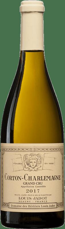 195,95 € Free Shipping | White wine Louis Jadot Grand Cru A.O.C. Corton-Charlemagne Burgundy France Chardonnay Bottle 75 cl