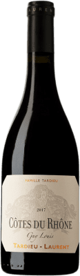 31,95 € Free Shipping | Red wine Tardieu-Laurent Guy-Louis A.O.C. Côtes du Rhône France Syrah, Grenache, Mourvèdre Bottle 75 cl