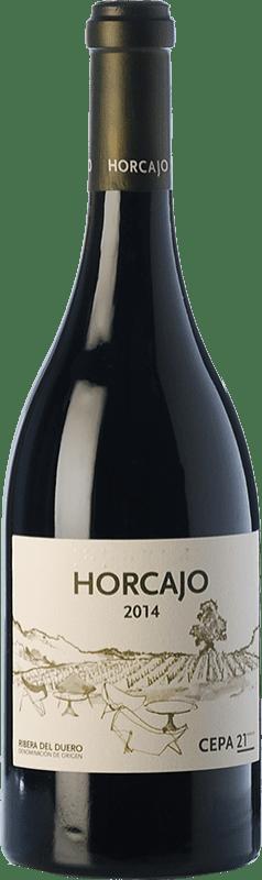 91,95 € Free Shipping | Red wine Cepa 21 Horcajo D.O. Ribera del Duero Castilla y León Spain Tempranillo Bottle 75 cl