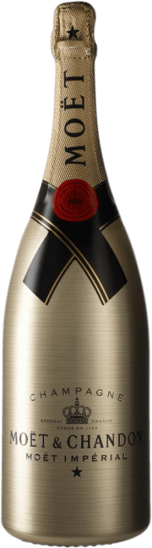 111,95 € Free Shipping | White sparkling Moët & Chandon Impérial Gold Brut A.O.C. Champagne Champagne France Pinot Black, Chardonnay, Pinot Meunier Magnum Bottle 1,5 L