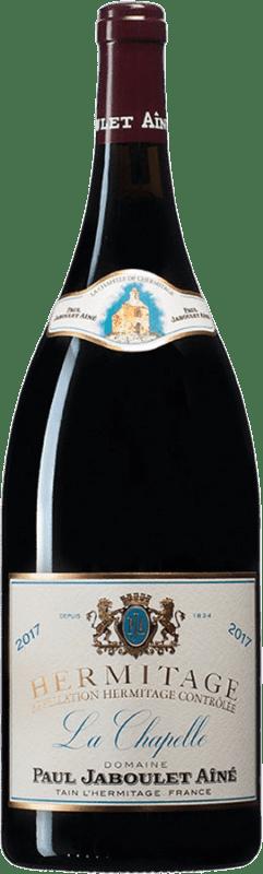 513,95 € Free Shipping | Red wine Jaboulet Aîné La Chapelle A.O.C. Hermitage France Syrah Magnum Bottle 1,5 L
