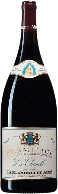 513,95 € Envío gratis | Vino tinto Jaboulet Aîné La Chapelle A.O.C. Hermitage Francia Syrah Botella Mágnum 1,5 L
