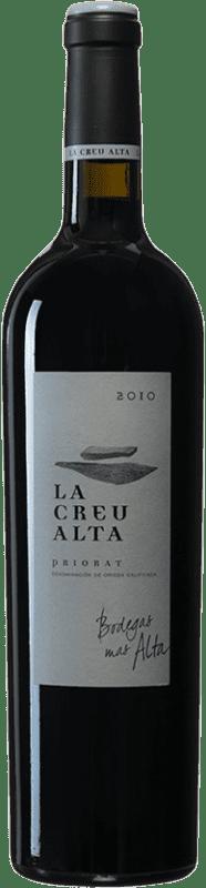 97,95 € Envío gratis | Vino tinto Mas Alta La Creu Alta 2010 D.O.Ca. Priorat Cataluña España Garnacha, Cariñena Botella 75 cl