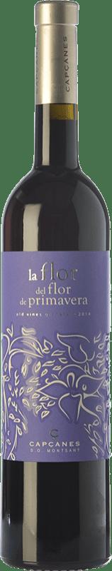 37,95 € Free Shipping | Red wine Capçanes La Flor del Flor Vinyes Velles D.O. Montsant Spain Grenache Tintorera Bottle 75 cl