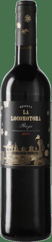 13,95 € Envoi gratuit | Vin rouge Uvas Felices La Locomotora Reserva D.O.Ca. Rioja Espagne Tempranillo Bouteille 75 cl