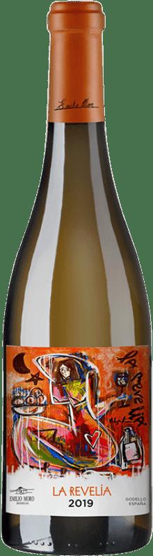19,95 € Envío gratis | Vino blanco Emilio Moro La Revelía D.O. Bierzo Castilla y León España Godello Botella 75 cl
