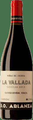 9,95 € Envío gratis | Vino tinto Olivier Rivière La Vallada D.O. Arlanza España Tempranillo Botella 75 cl