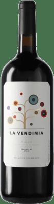 15,95 € Envío gratis | Vino tinto Palacios Remondo La Vendimia D.O.Ca. Rioja España Tempranillo, Garnacha Botella Mágnum 1,5 L