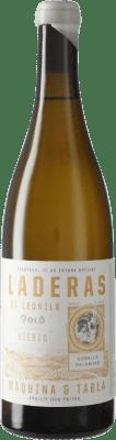 9,95 € Free Shipping | White wine Máquina & Tabla Laderas de Leonila D.O. Bierzo Castilla y León Spain Godello, Palomino Fino, Doña Blanca Bottle 75 cl