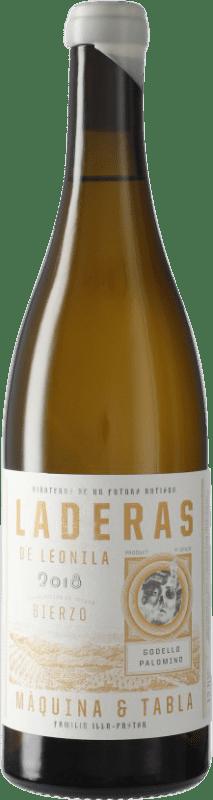 9,95 € Envoi gratuit | Vin blanc Máquina & Tabla Laderas de Leonila D.O. Bierzo Castille et Leon Espagne Godello, Palomino Fino, Doña Blanca Bouteille 75 cl