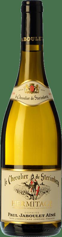 71,95 € Envío gratis | Vino blanco Jaboulet Aîné Le Chevalier de Stérimberg A.O.C. Hermitage Francia Roussanne, Marsanne Botella 75 cl
