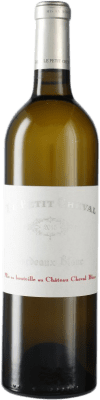 152,95 € Free Shipping | White wine Château Cheval Le Petit Cheval Blanc A.O.C. Saint-Émilion Bordeaux France Bottle 75 cl