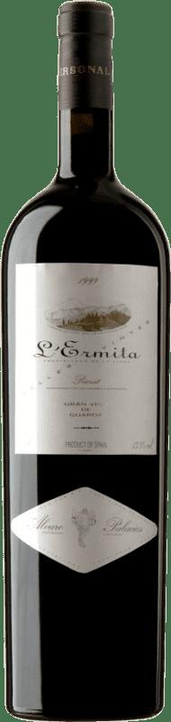 4 245,95 € Envío gratis | Vino tinto Álvaro Palacios L'Ermita 1999 D.O.Ca. Priorat Cataluña España Garnacha, Cabernet Sauvignon Botella Jéroboam-Doble Mágnum 3 L