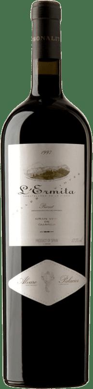 4 245,95 € Envoi gratuit   Vin rouge Álvaro Palacios L'Ermita 1997 D.O.Ca. Priorat Catalogne Espagne Grenache, Cabernet Sauvignon Bouteille Jéroboam-Doble Magnum 3 L