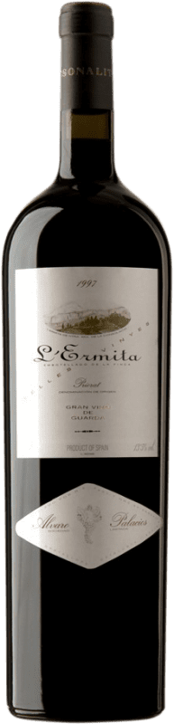 4 245,95 € Envío gratis | Vino tinto Álvaro Palacios L'Ermita 1997 D.O.Ca. Priorat Cataluña España Garnacha, Cabernet Sauvignon Botella Jéroboam-Doble Mágnum 3 L