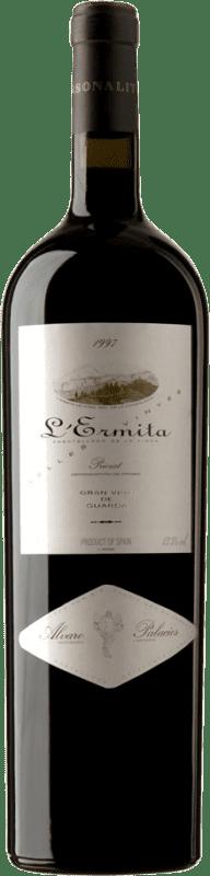 7 047,95 € Kostenloser Versand | Rotwein Álvaro Palacios L'Ermita 1997 D.O.Ca. Priorat Katalonien Spanien Grenache, Cabernet Sauvignon Spezielle Flasche 5 L