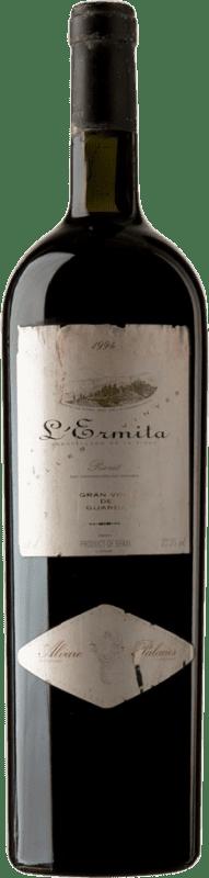 7 047,95 € Envío gratis | Vino tinto Álvaro Palacios L'Ermita 1994 D.O.Ca. Priorat Cataluña España Garnacha, Cabernet Sauvignon Botella Especial 5 L