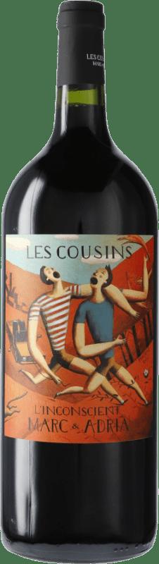 19,95 € Free Shipping | Red wine Les Cousins L'Inconscient D.O.Ca. Priorat Catalonia Spain Grenache, Cabernet Sauvignon, Carignan Magnum Bottle 1,5 L
