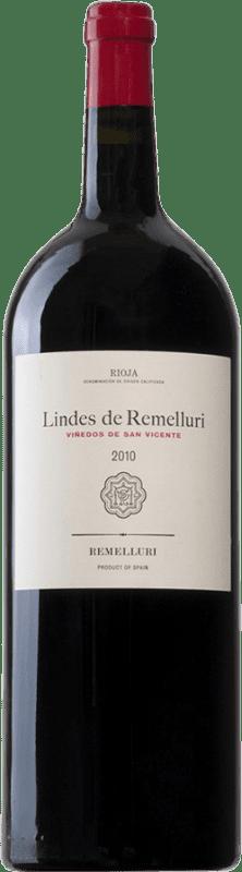 27,95 € Free Shipping | Red wine Ntra. Sra de Remelluri Lindes Viñedos de San Vicente D.O.Ca. Rioja Spain Tempranillo, Grenache, Graciano, Viura Magnum Bottle 1,5 L