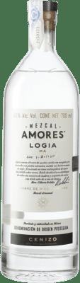 59,95 € Kostenloser Versand | Mezcal Amores Logia Cenizo Mexiko Flasche 70 cl