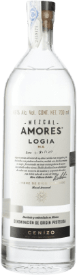 59,95 € Envoi gratuit | Mezcal Amores Logia Cenizo Mexique Bouteille 70 cl