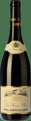 65,95 € Free Shipping | Red wine Jaboulet Aîné Maison Bleue A.O.C. Hermitage France Syrah Bottle 75 cl