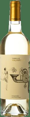7,95 € Kostenloser Versand | Weißwein Torelló Malvarel·lo D.O. Penedès Katalonien Spanien Flasche 75 cl