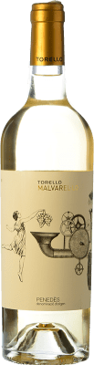 15,95 € Free Shipping | White wine Torelló Malvarel·lo D.O. Penedès Catalonia Spain Bottle 75 cl