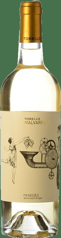 7,95 € Free Shipping | White wine Torelló Malvarel·lo D.O. Penedès Catalonia Spain Bottle 75 cl