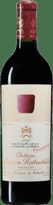 658,95 € Free Shipping | Red wine Château Mouton-Rothschild A.O.C. Pauillac Bordeaux France Merlot, Cabernet Sauvignon, Cabernet Franc Bottle 75 cl