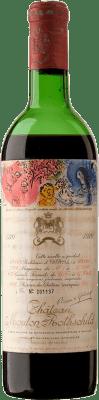 881,95 € Free Shipping | Red wine Château Mouton-Rothschild 1970 A.O.C. Pauillac Bordeaux France Merlot, Cabernet Sauvignon, Cabernet Franc Bottle 75 cl