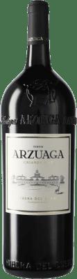 47,95 € Envío gratis | Vino tinto Arzuaga Crianza D.O. Ribera del Duero Castilla y León España Botella Mágnum 1,5 L