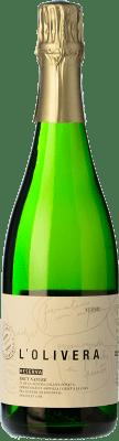 16,95 € Free Shipping | White sparkling L'Olivera Brut Nature Reserva D.O. Costers del Segre Spain Macabeo, Parellada Bottle 75 cl