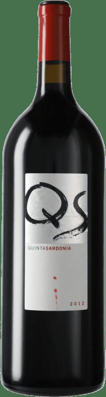 59,95 € Envío gratis | Vino tinto Quinta Sardonia I.G.P. Vino de la Tierra de Castilla y León Castilla y León España Tempranillo, Merlot, Cabernet Sauvignon Botella Mágnum 1,5 L