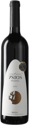 29,95 € Free Shipping | Red wine Ysios Reserva D.O.Ca. Rioja Spain Tempranillo Bottle 75 cl