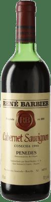 16,95 € Free Shipping | Red wine René Barbier D.O. Penedès Catalonia Spain Cabernet Sauvignon Bottle 75 cl