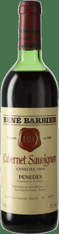 9,95 € Free Shipping | Red wine René Barbier D.O. Penedès Catalonia Spain Cabernet Sauvignon Bottle 75 cl
