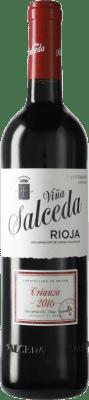 13,95 € Free Shipping | Red wine Viña Salceda Crianza D.O.Ca. Rioja Spain Tempranillo, Graciano, Mazuelo Bottle 75 cl