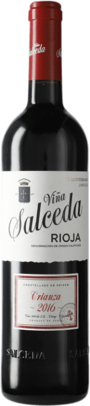 7,95 € Envoi gratuit   Vin rouge Viña Salceda Crianza D.O.Ca. Rioja Espagne Tempranillo, Graciano, Mazuelo Bouteille 75 cl