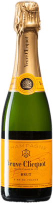 29,95 € Free Shipping | White sparkling Veuve Clicquot Brut A.O.C. Champagne Champagne France Pinot Black, Chardonnay, Pinot Meunier Half Bottle 37 cl