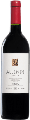 59,95 € Free Shipping | Red wine Allende 2005 D.O.Ca. Rioja Spain Tempranillo Bottle 75 cl