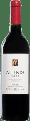 54,95 € Envoi gratuit | Vin rouge Allende 2005 D.O.Ca. Rioja Espagne Tempranillo Bouteille 75 cl