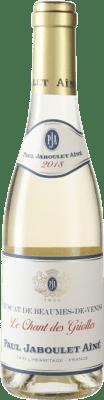 14,95 € Envío gratis | Vino blanco Jaboulet Aîné A.O.C. Beaumes de Venise Francia Moscatel Media Botella 37 cl