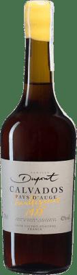 175,95 € Envío gratis | Calvados Domaine Dupont I.G.P. Calvados Pays d'Auge Francia Botella 70 cl