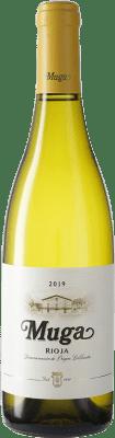 10,95 € Free Shipping | White wine Muga D.O.Ca. Rioja Spain Viura, Malvasía, Grenache White Bottle 75 cl