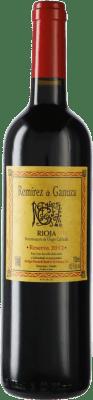 55,95 € Envío gratis | Vino tinto Remírez de Ganuza Reserva D.O.Ca. Rioja España Botella 75 cl