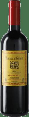 36,95 € Free Shipping | Red wine Remírez de Ganuza Reserva D.O.Ca. Rioja Spain Tempranillo, Graciano, Viura, Malvasía Medium Bottle 50 cl