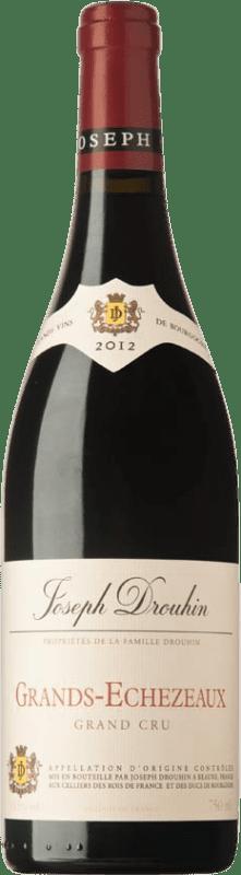 504,95 € Free Shipping | Red wine Drouhin A.O.C. Grands Échezeaux Burgundy France Pinot Black Bottle 75 cl