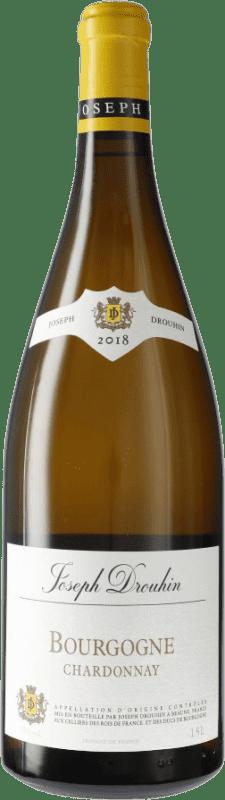 28,95 € Envoi gratuit | Vin blanc Drouhin A.O.C. Bourgogne Bourgogne France Chardonnay Bouteille Magnum 1,5 L