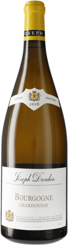 34,95 € Free Shipping | White wine Drouhin A.O.C. Bourgogne Burgundy France Chardonnay Magnum Bottle 1,5 L
